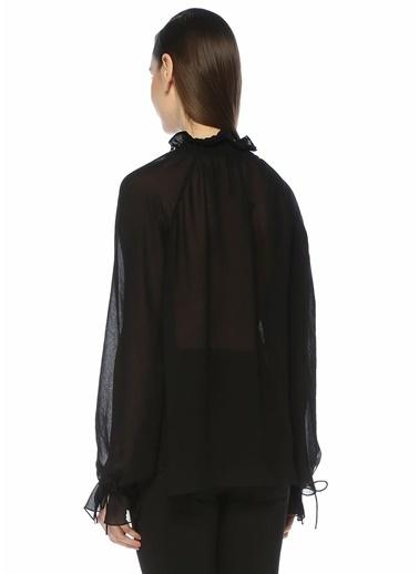 Saint Laurent Bluz Siyah